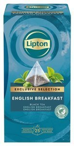 Czarna herbata Lipton Piramida English Breakfast 25 kopert