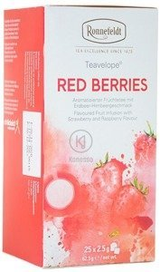Owocowa herbata Ronnefeldt Teavelope Red Berries 25x2,5g