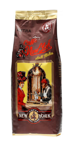 Kawa ziarnista New York Caffe 1kg - 5% Jamaica Blue Mountain