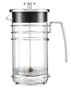 Zaparzacz do kawy AROMA 1000 ml z metalową rączką - French Press