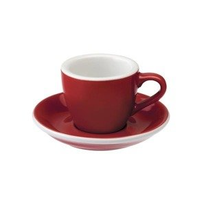 Filiżanka do espresso Loveramics Egg 80ml - red - opinie w konesso.pl