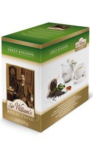 Zielona herbata Sir Williams Royal Taste Green Kingdom 50x2,5g - opinie w konesso.pl