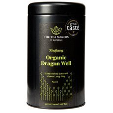 Zielona herbata The Tea Makers Organic Dragon Well No.54 - 100g - opinie w konesso.pl