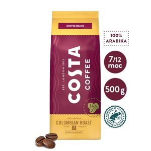 Kawa ziarnista Costa Coffee Colombian Roast 500g - opinie w konesso.pl