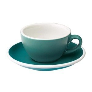 Filiżanka do flat white Loveramics Egg 150ml - teal - opinie w konesso.pl