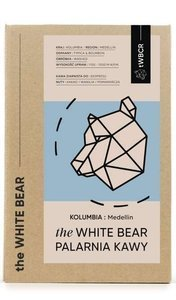 Kawa ziarnista The White Bear Kolumbia Medellin 1kg - opinie w konesso.pl