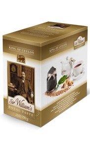 Czarna herbata Sir Williams Royal Taste King of Ceylon 50x3g - opinie w konesso.pl