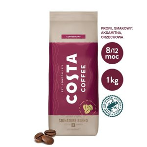 Kawa ziarnista Costa Coffee Signature Blend 1kg - opinie w konesso.pl