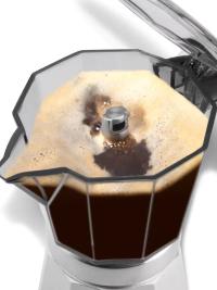 Przezroczysty zbiornik na kawę