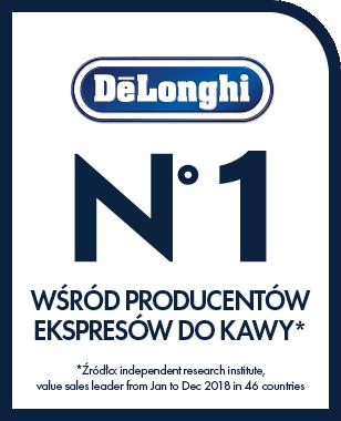Delonghi - Lider wśród producentów ekspresów do kawy