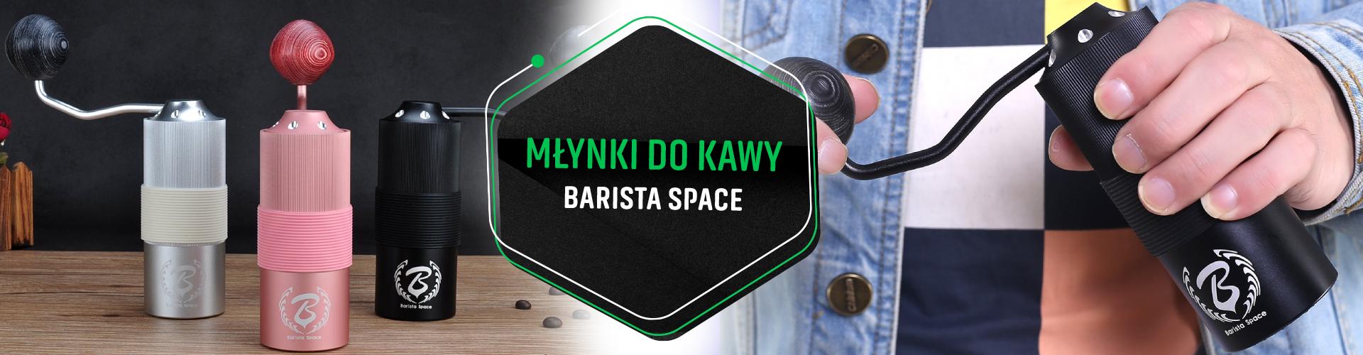 Młynki do kawy Barista Space