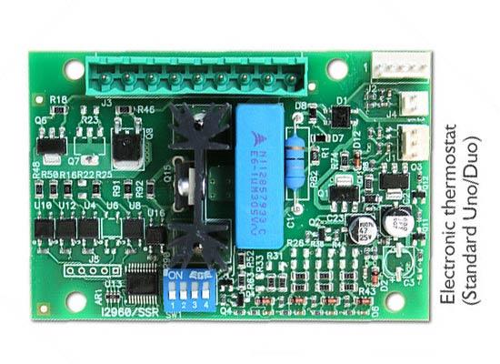 Elektroniczny sterownik  temperatury termobloku ekspresu ASCASO Steel UNO PID White&Wood