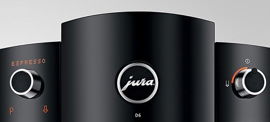 Łatwy i szybki w obsłudze Ekspres JURA D6