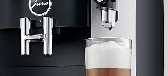Technologia idealnie spienionego mleka i najwyższy standard higieny ekspresu JURA S8 Moonlight Silver