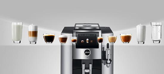 Szeroki zakres specjałów kawowych oraz prosta obsługa ekspresu JURA S8 Chrome