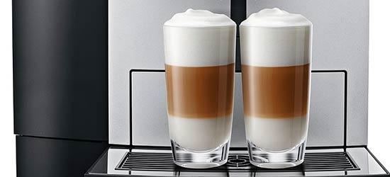 System PEP oraz System One Touch Cappuccino w ekspresie Jura X8