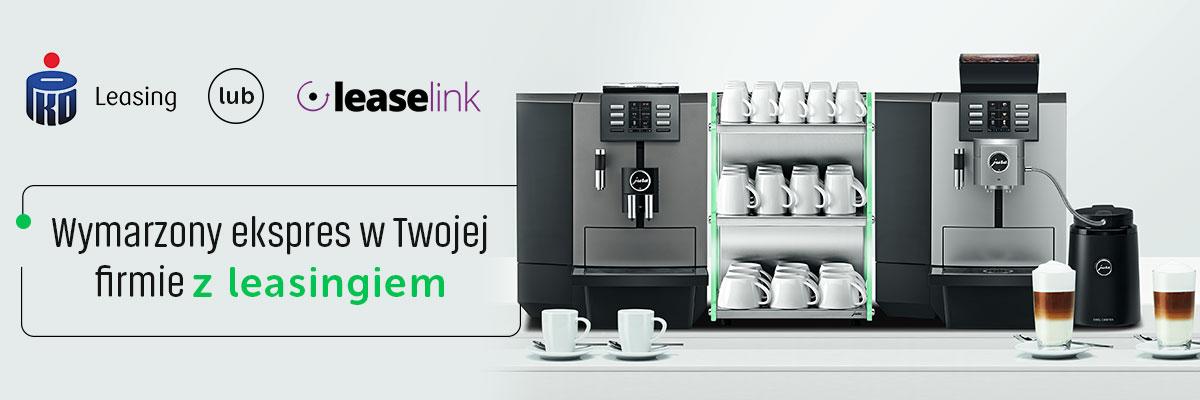 Wymarzony ekspres do kawy w Twojej firmie z leasingiem Pko Leasing lub Leaselink