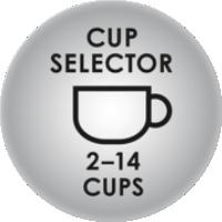 Regulowana porcja mielonej kawy