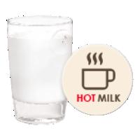 Przygotowanie gorącego mleka