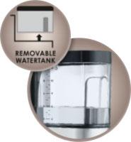 Przezroczysty pojemnik na wodę