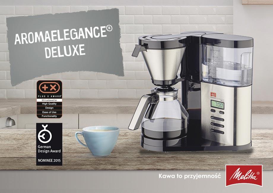 Przelewowy ekspres do kawy Melitta Aroma Elegance Deluxe