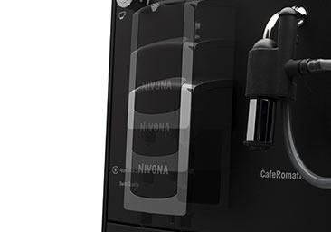 Regulowana wylewka kawy w ekspresie automatycznym Nivona 520