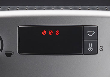 Czytelny, kolorowy wyświetlacz w ekspresie automatycznym Nivona 530