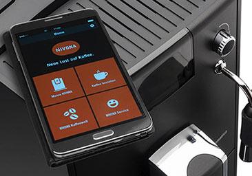 Nowoczesny system Bluetooth w ekspresie automatycznym Nivona 660