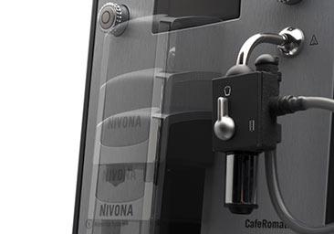Manualna funkcja Easy-Spumatore w ekspresie automatycznym Nivona 670