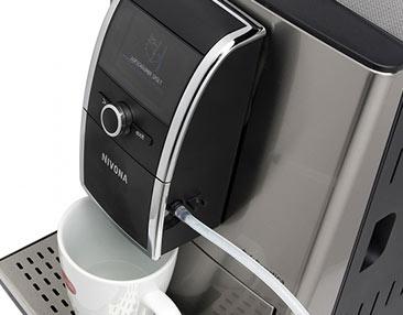 2 kawy mleczne po naciśnięciu 1 przycisku
