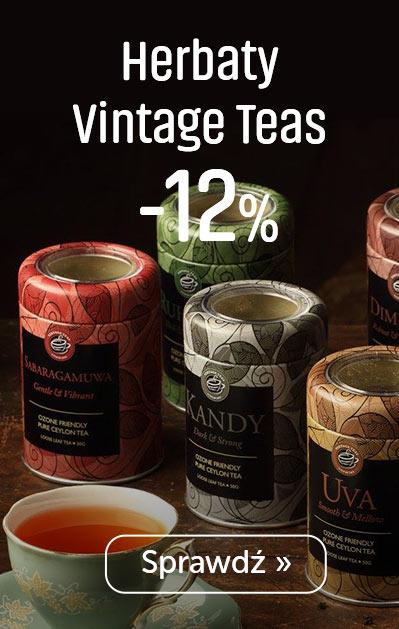 Herbaty Vintage Teas -12%