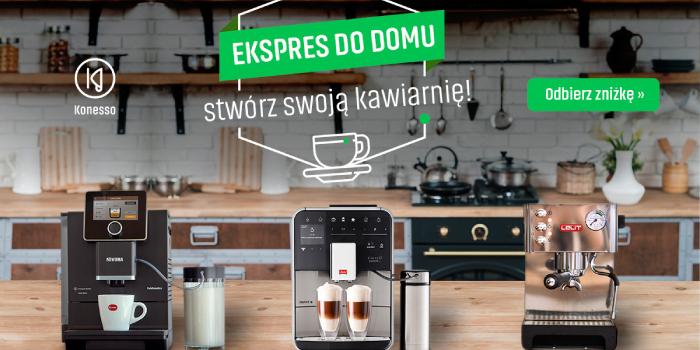 rabat na ekspresy do kawy
