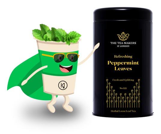 Bohater miesiąca Organic Peppermint Leaves
