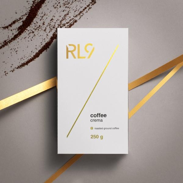 Kawa mielona RL9 Coffee Crema 250g