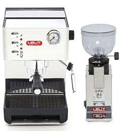 ZESTAW Ekspres do kawy Lelit Anna PL41EM + Młynek do kawy Lelit Fred PL043MMI