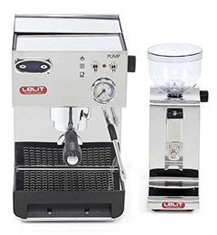 ZESTAW Ekspres do kawy Lelit Anna PL41TEM + Młynek do kawy Lelit Fred PL044MMT