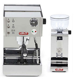 ZESTAW Ekspres do kawy Lelit Anna PL41LEM + Młynek do kawy Lelit Fred PL044MMT