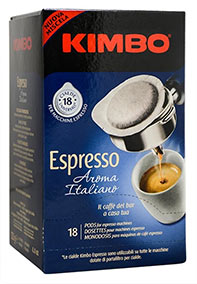 Kawa Kimbo w saszetkach