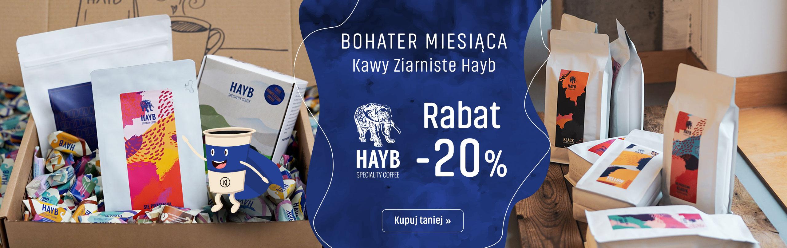 Bohater miesiaca palrnia Hayb z Rabatem -20%