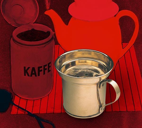 Drip - pierwsze naczynie do parzenia kawy metoda przelewową - 1908 rok