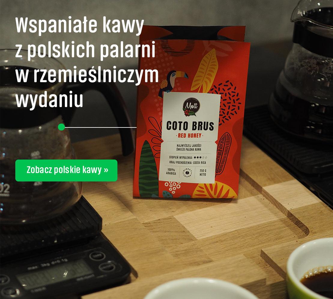 Polskie kawy w rzemieślniczym wydaniu