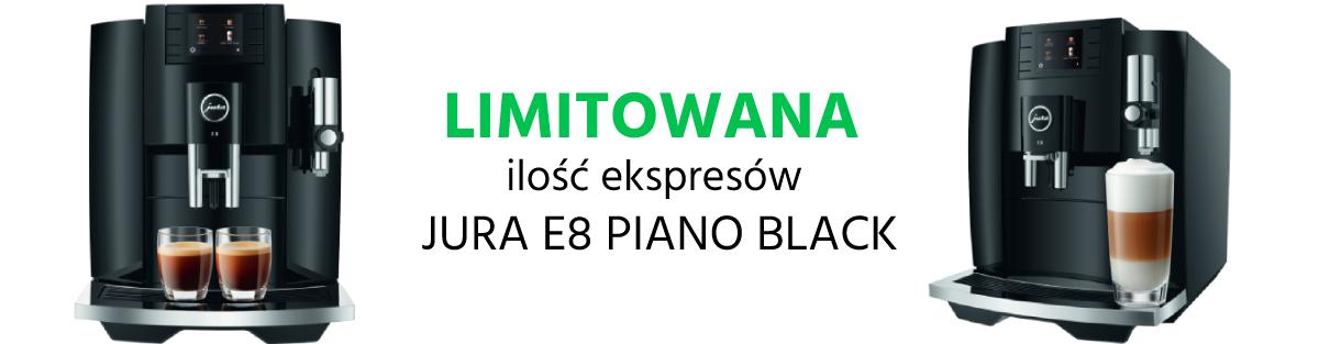 Ekspres do kawy Jura E8 Piano Black EB