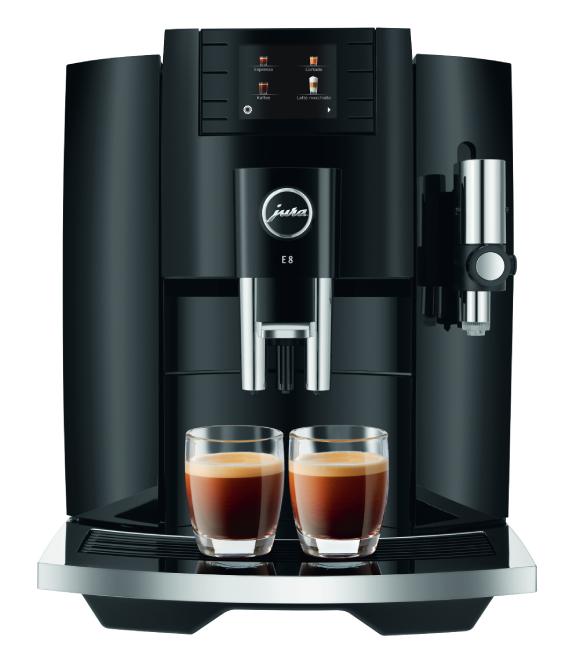 Ciśnieniowy Ekspres do kawy Jura E8 Piano black