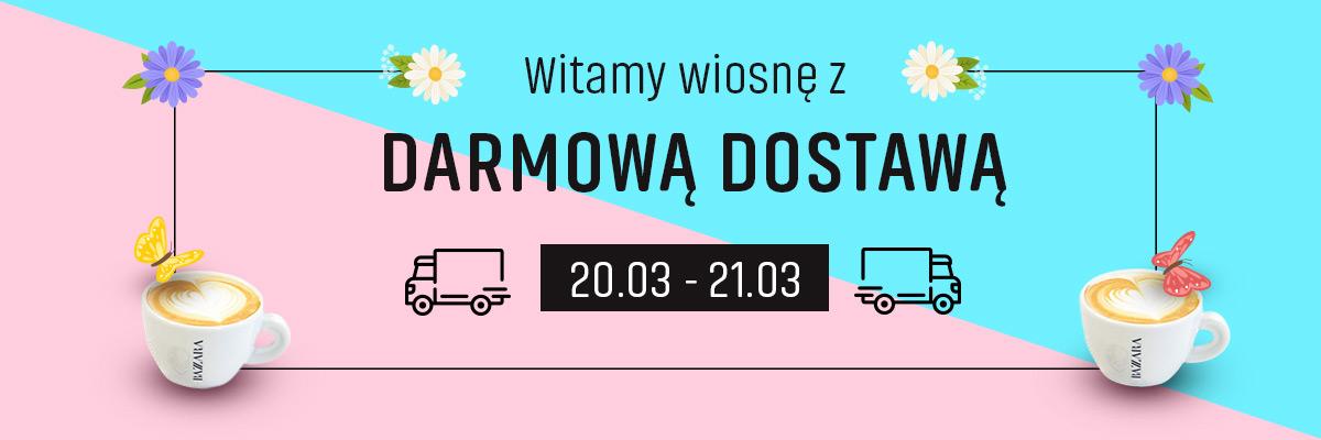 Darmowa dostawa w Konesso w dniach 20.03 - 21.03