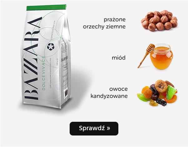 KAWA ZIARNISTA BAZZARA DOLCEVIVACE 1KG