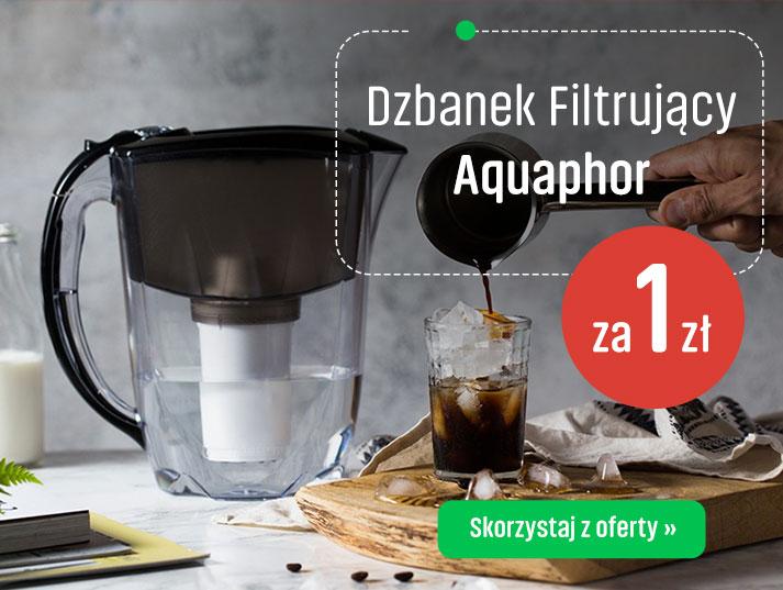 DZbanek filtrujacy Aquaphor za 1 zł