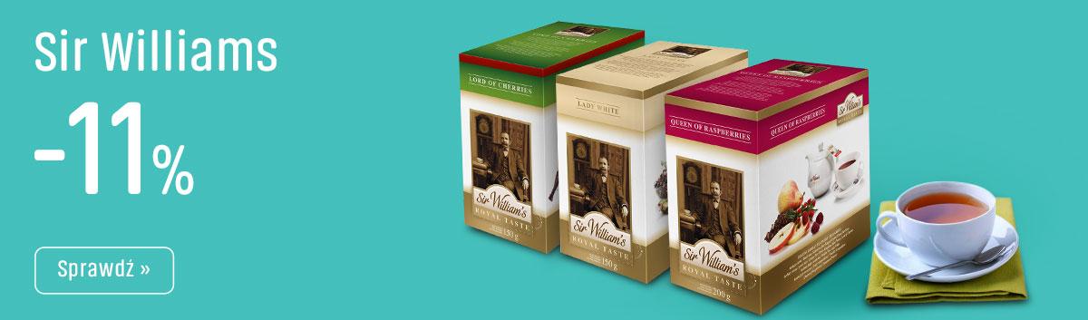 Herbaty Sir Wiliams z Rabatem -11%