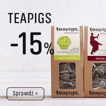 Herbaty Tea Pigs z Rabatem -24%