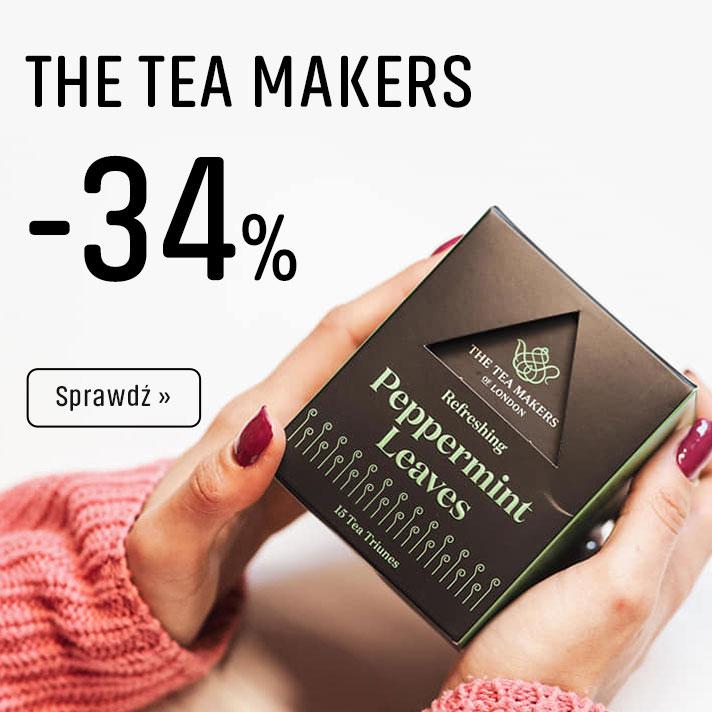 Herbaty The Tea Makers z Rabatem -34%