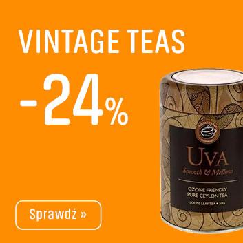 Herbaty Vintage Teas z Rabatem -24%